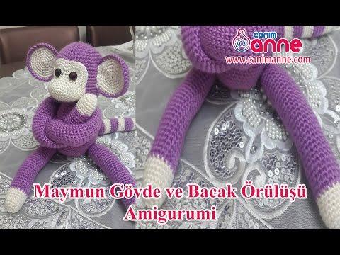 Amigurumi Maymun Kol ve Bacak Örülüşü , Canım Anne