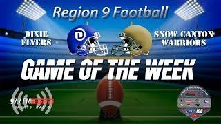 Region 9 Football Snow Canyon at Dixie September 13, 2019
