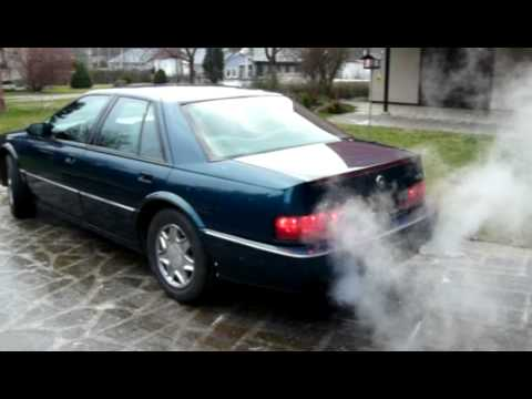 95´ Cadillac STS steaming - YouTube