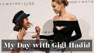 My Day with Gigi Hadid + Giveaway #GigixMaybellineinPH | Laureen Uy