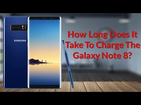 How Long Does It Take To Charge The Galaxy Note 8 - YouTube Tech Guy