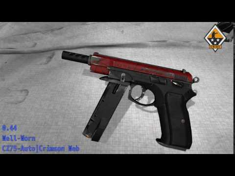 CZ75 Auto  Crimson Web  Wear/Float