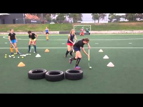 Field Hockey Drills To Do At Home And At The Practice Field For Beginners Youtube