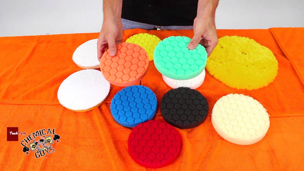 Polishing & Buffing Pads - Choosing The Correct Polishing ...
