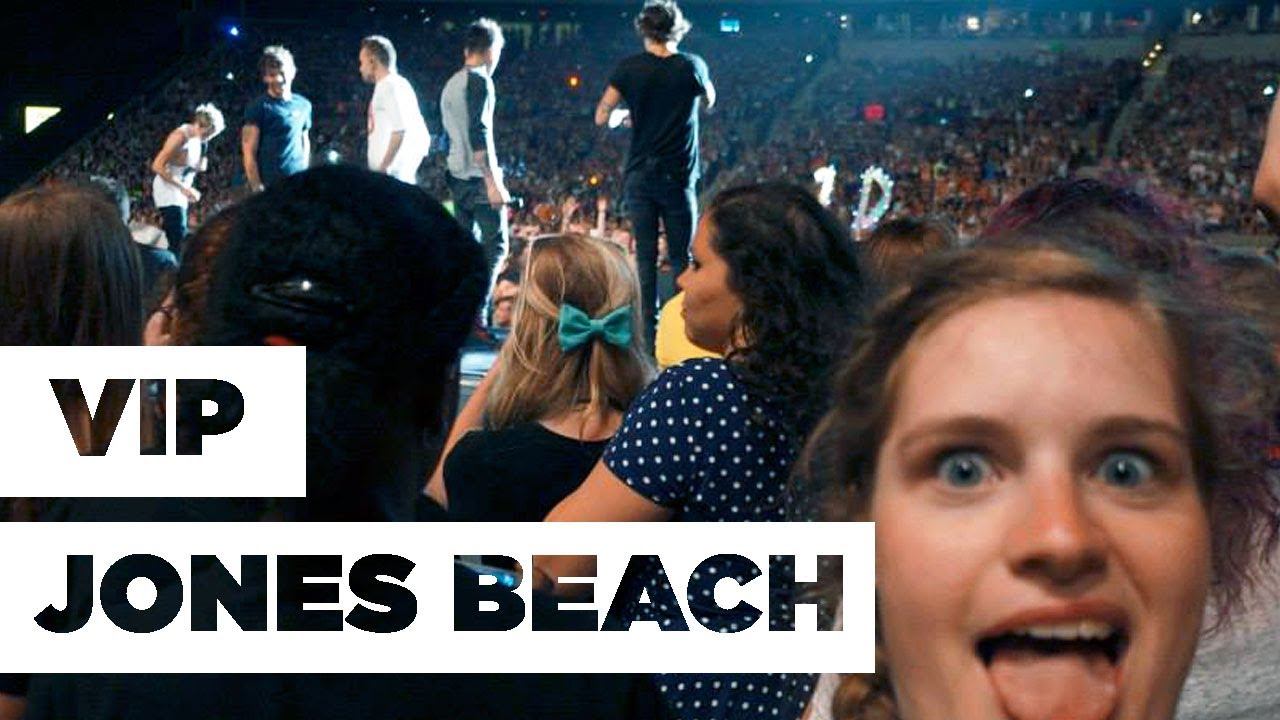 Vlog 2 one direction vip jones beach experience youtube m4hsunfo