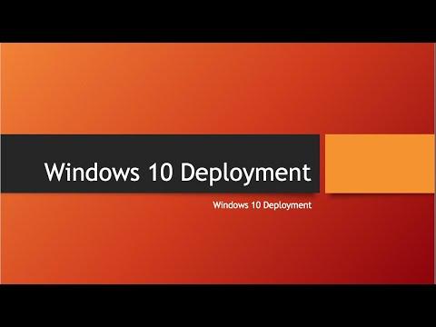 SCCM Task Sequences - Windows 10 Deployment