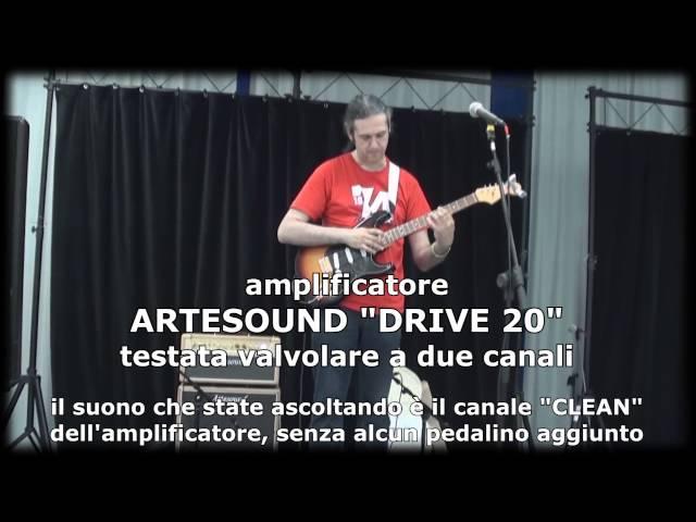 SHG 2013 a Salerno - Demo ARTESOUND con MARCELLO ZAPPATORE
