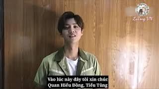 [Vietsub] 2017 Lộc Hàm chúc mừng sinh nhật Hiểu Đồng