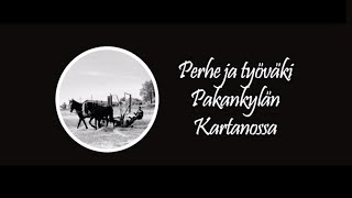 Perhe ja työväki Pakankylän kartanossa - Backbyn Kartano Espoossa