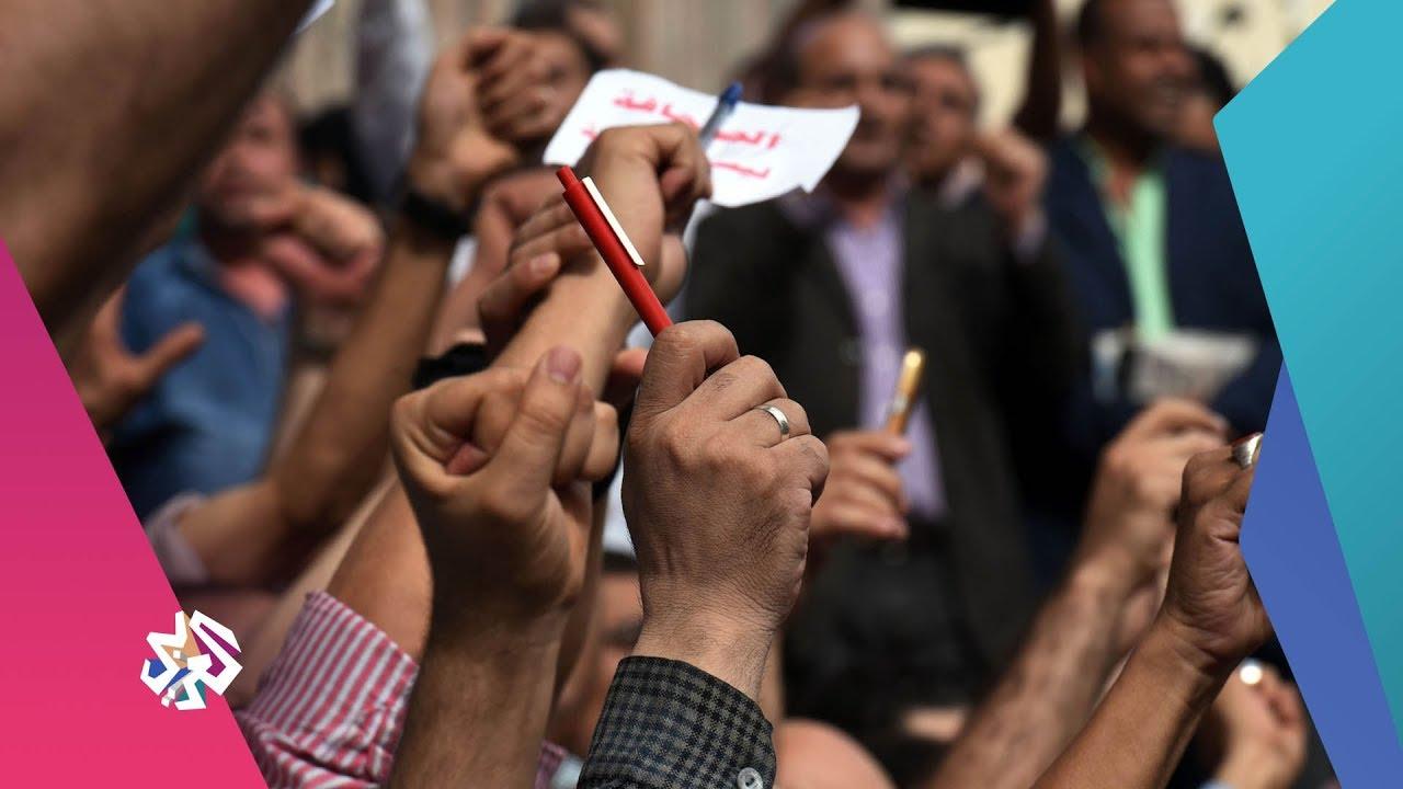 قناة العربي:بتوقيت مصر│القبض على الصحفي أحمد الليثي