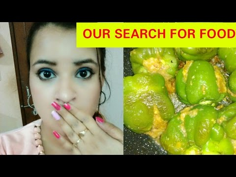 OUR SEARCH FOR FOOD || WHY I MISSED DAILYVLOGS|| CHANDNI BEAUTYZONE