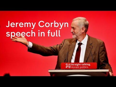 Jeremy Corbyn speech at Labour Party Conference 2015