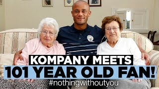KOMPANY SURPRISES 101 YEAR OLD SEASONCARD HOLDER! | #nothingwithoutyou