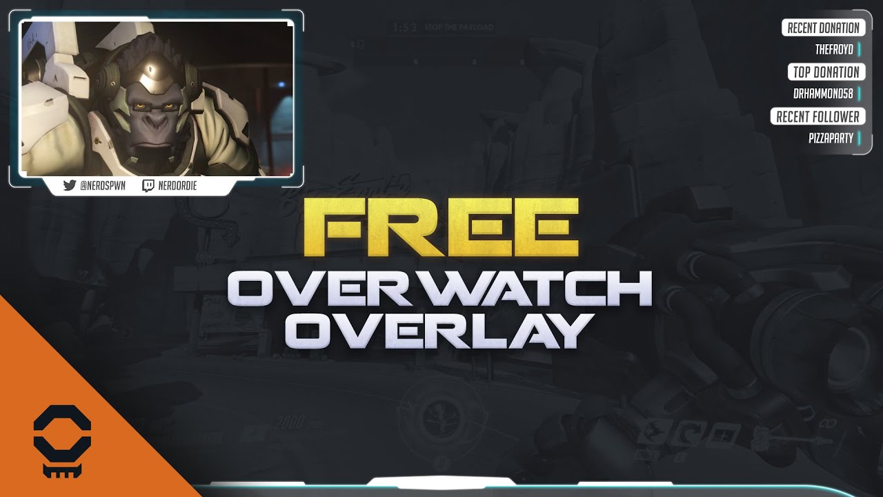 Free Overwatch Overlay Mega Pack for Twitch and YouTube Gaming