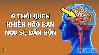 8 Thói Quen Phá Hỏng Não Bộ Khiến Bạn Ngu Si Đần Độn