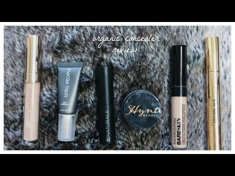 Organic & Non-Toxic Concealer Review!