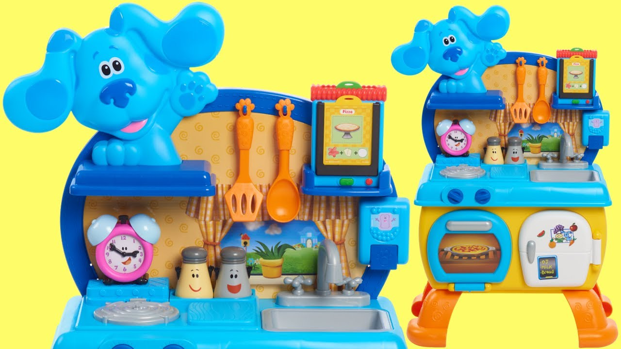 BLUE'S CLUES & YOU! Cook Along Kitchen Play Set with Josh and Magenta