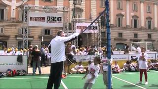 Lezioni di volley di Andrea Lucchetta: il palleggio