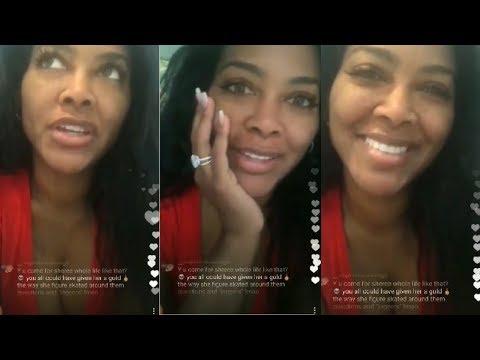 Kenya Moore DENIES SURROGATE rumors and THROWS SHADE at Marlo Hampton and Talks Sheree BEING OUT!