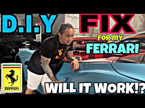 TRYING TO FIX MY FERRARI!!!WILL IT WORK!?