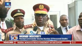 Highway Insecurity: FRSC To Carry Arms For Safety