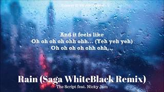 Rain Nicky Jam The Script Letra Lyrics Saga WhiteBlack Remix.mp3