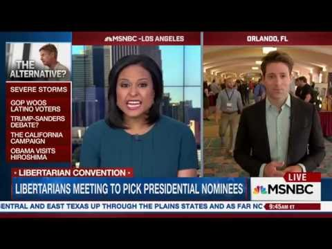 MSNBC 2016 Libertarian Party Convention: Could a third party candidate impact the election?