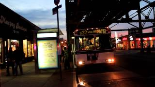 NYCTA Bus: Jackson Heights Bound Orion 5 [#6058] Q32 at Roosevelt Ave / 63rd Street