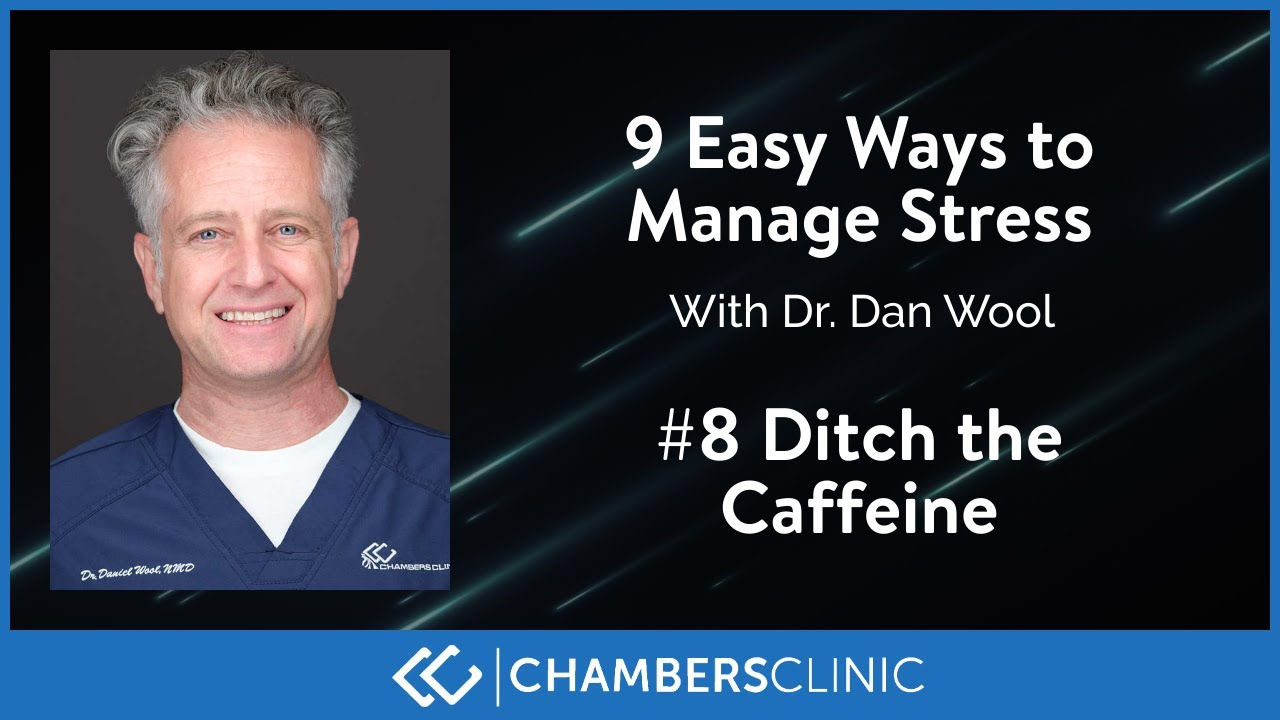9 easy ways to reduce stress: #8 Ditch caffeine