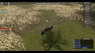 Roblox| Wild Savannah| Lion ambushed Gnu.