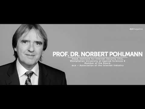 Dotmagazin Meets ... Prof. Dr. Norbert Pohlmann: Trust & Security In The Blockchain