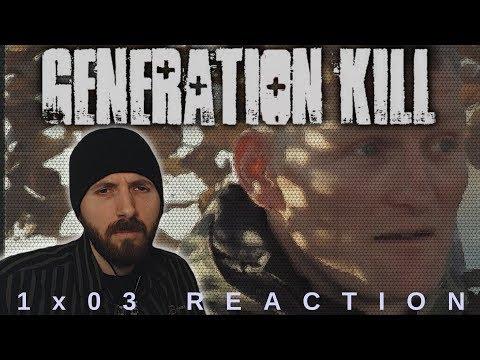 REACTION ► Generation Kill ► 1x03 - Screwby