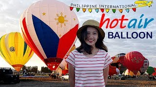 PHILIPPINE INTERNATIONAL HOT AIR BALLOON FESTIVAL / FIESTA | CLARK FIELD PAMPANGA