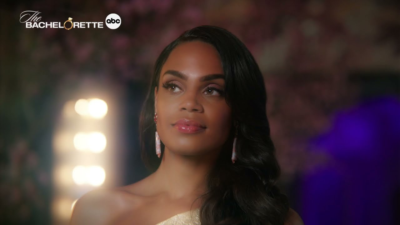 Michelle Young Is Making A Grand Entrance - The Bachelorette