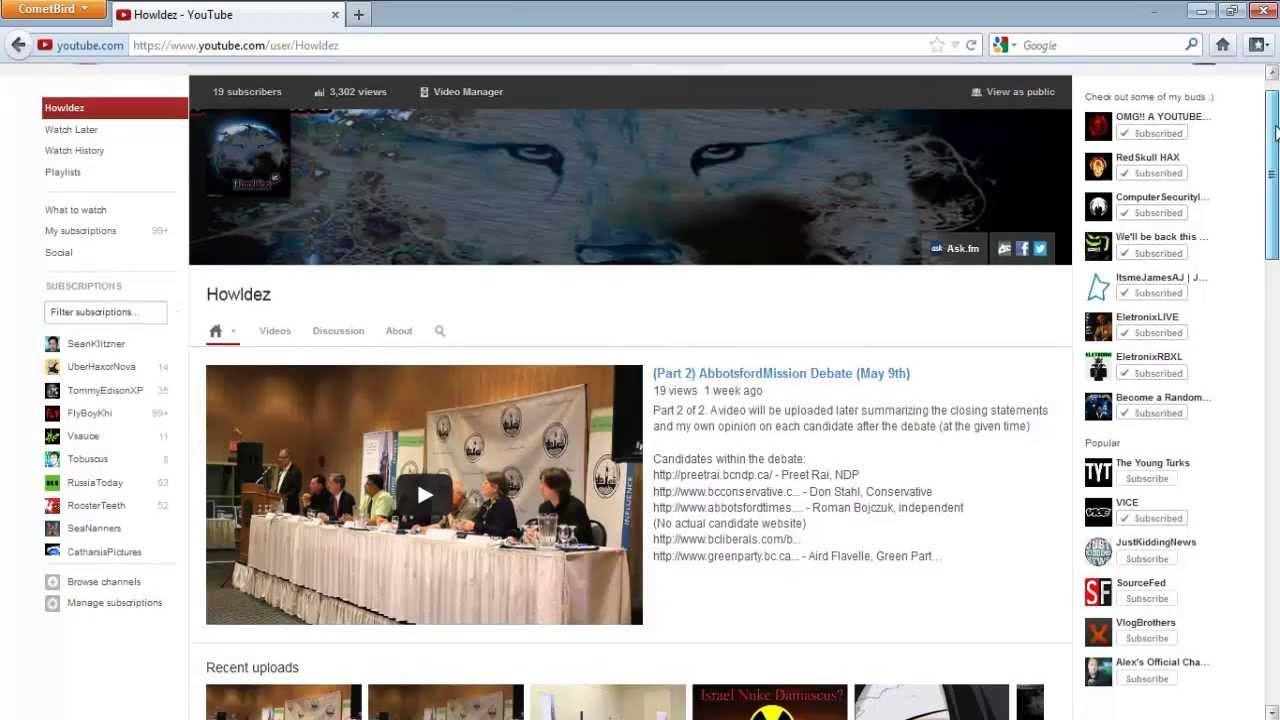Tolle Neue Youtube Layoutvorlage Fotos - Dokumentationsvorlage ...