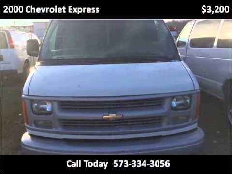 2000 chevrolet express used cars st louis mo youtube. Black Bedroom Furniture Sets. Home Design Ideas