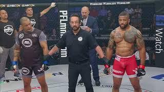 PFL3 DC: Fight 3 - Lobato def Harris