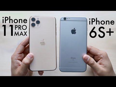 iPhone 11 Pro Max Vs iPhone 6S Plus! (Comparison) (Review)