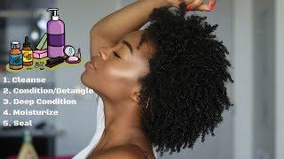 ❃CWK❃ EPI. 9 | Basic Natural Hair Care Regimen! (Beginner Friendly)