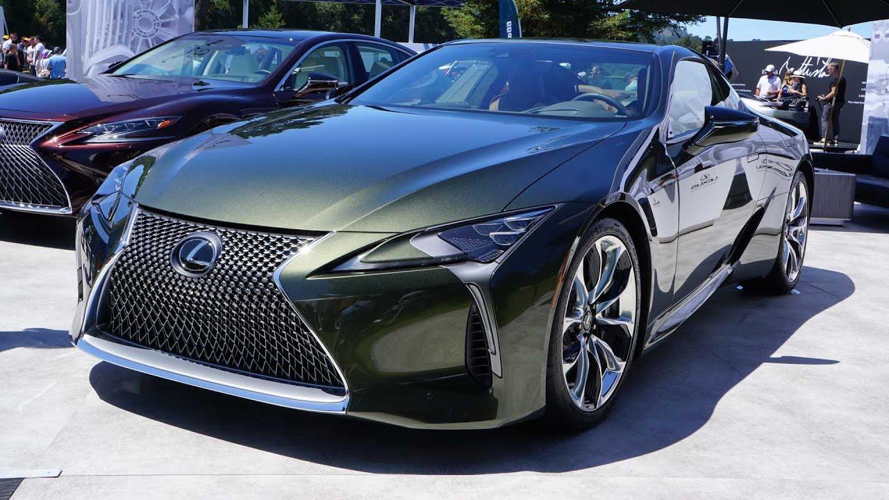 2020 lexus lc 500 inspiration series - price: $107,235