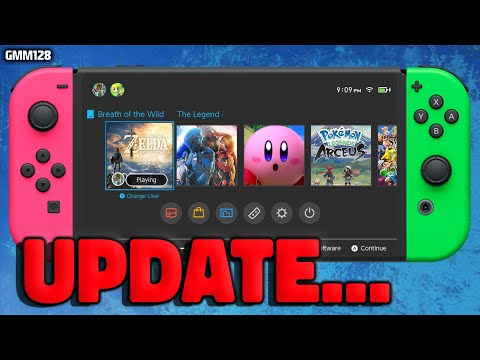 Nintendo Switch BIG NEWS Update Today...