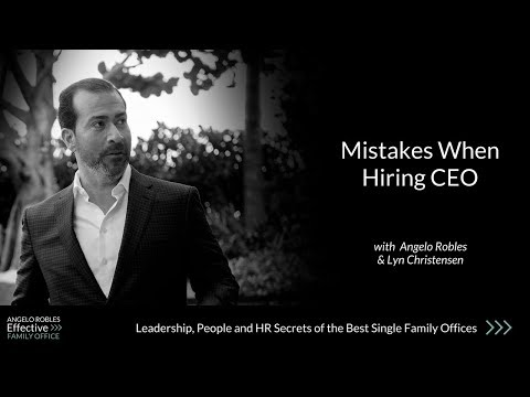 Mistakes When Hiring CEO