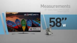 LG 65UH8500 ( UH8500 ) Super UHD 4K HDR Smart LED TV - 65
