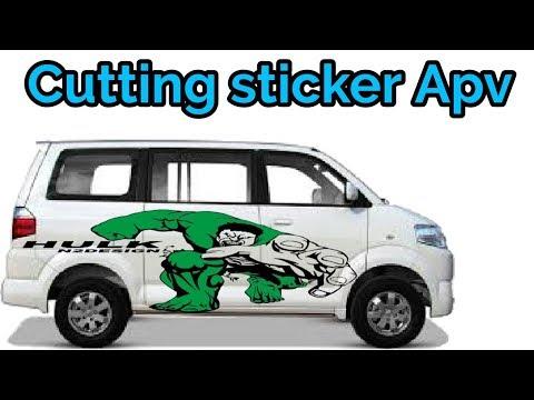 44 Modifikasi Stiker Mobil Apv Gratis