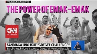 "Download Video Sandiaga Uno & Istri Ikut ""Greget Challenge"" MP3 3GP MP4"