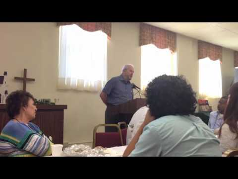 """Peter Storey on immigration and the """"other"""" at FL Annual Conference Justice For Our Neighbors"""
