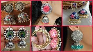 Latest Jhumka Earrings Designs //Trending Stylish Earrings Designs 2019