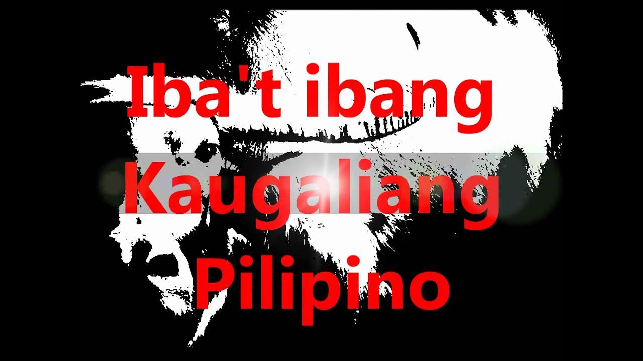 Spoken Tagalog.