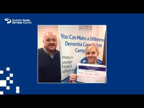 Tommy Whitelaw talks about motivation and inspiration in dementia care