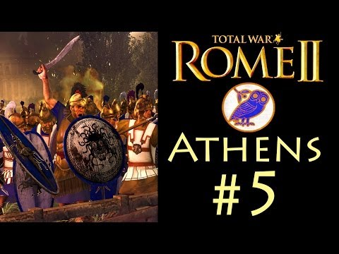 "Let's Play: Rome 2 - Athens Campaign (Legendary/Co-op) - Part 5: ""The Battle Of Sparta"""